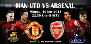 Manchester United Vs Arsenal - Agen Bola Indonesia