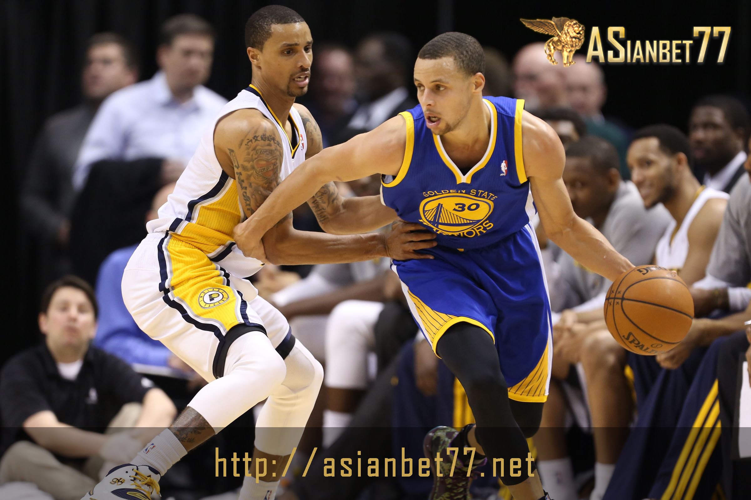 NBA: Golden State Warriors Telan Habis Indiana Pacers