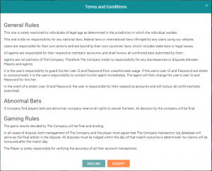 terms and Conditions CF88