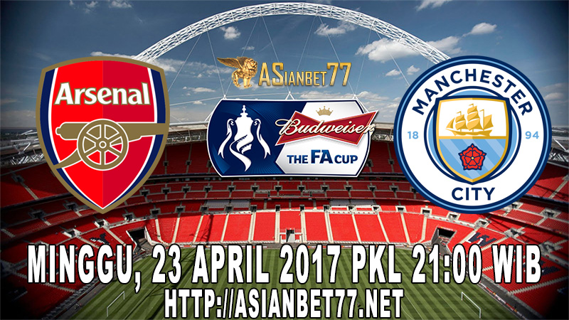 Prediksi Bola : Arsenal Vs Manchester City 23 April 2017