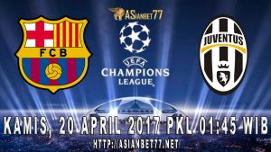Prediksi Bola Barcelona Vs Juvenus 20 April 2017 Asianbet77