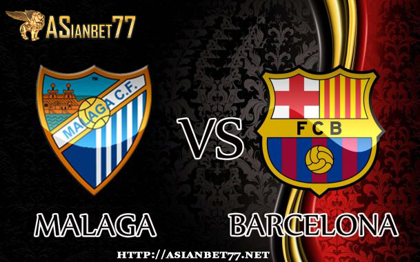 Prediksi Bola : Malaga Vs Barcelona 9 April 2017