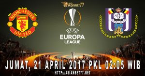 Prediksi Bola Manchester United Vs Anderlecht 21 April 2017 Asianbet77
