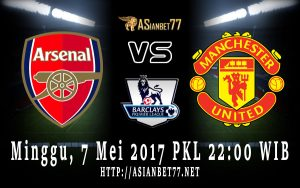Prediksi Bola Arsenal Vs Manchester United 7 Mei 2017 Asianbet77