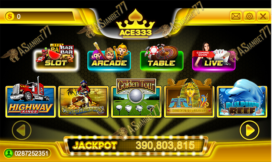 Agen Ace333 Slot Games Asianbet77